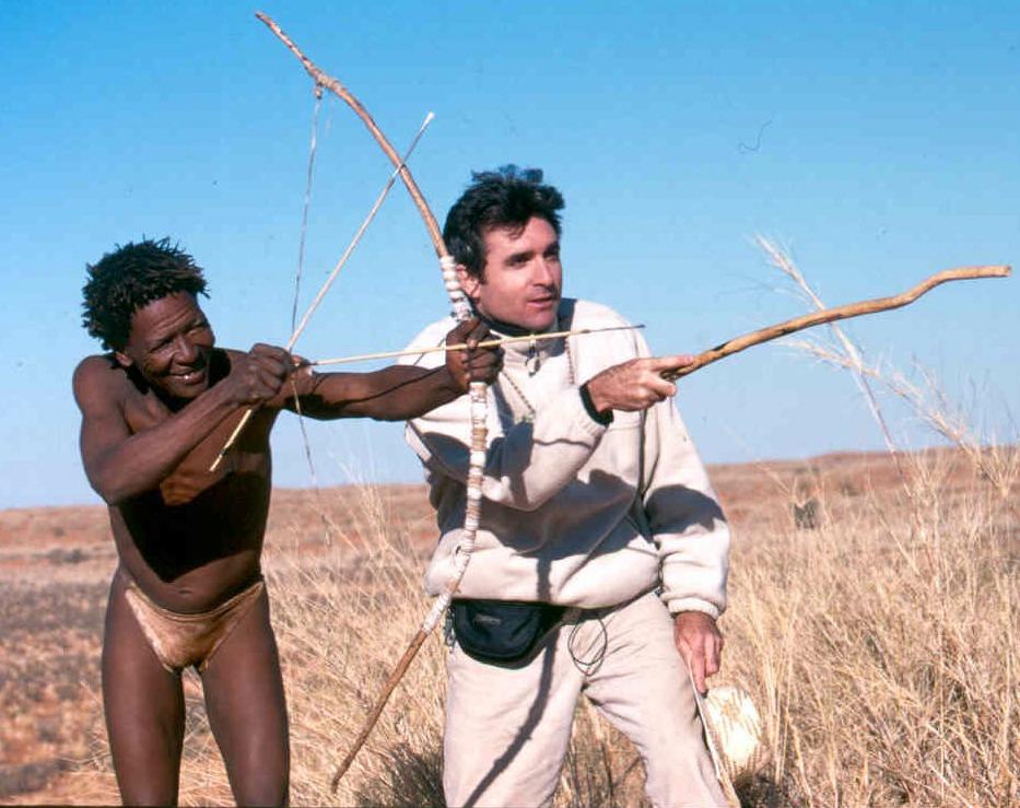 Kalahari Desert Bush survivor